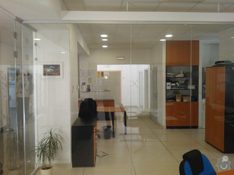 Skleněné zastřešení terasy,skleněné kanceláře: WP_002176