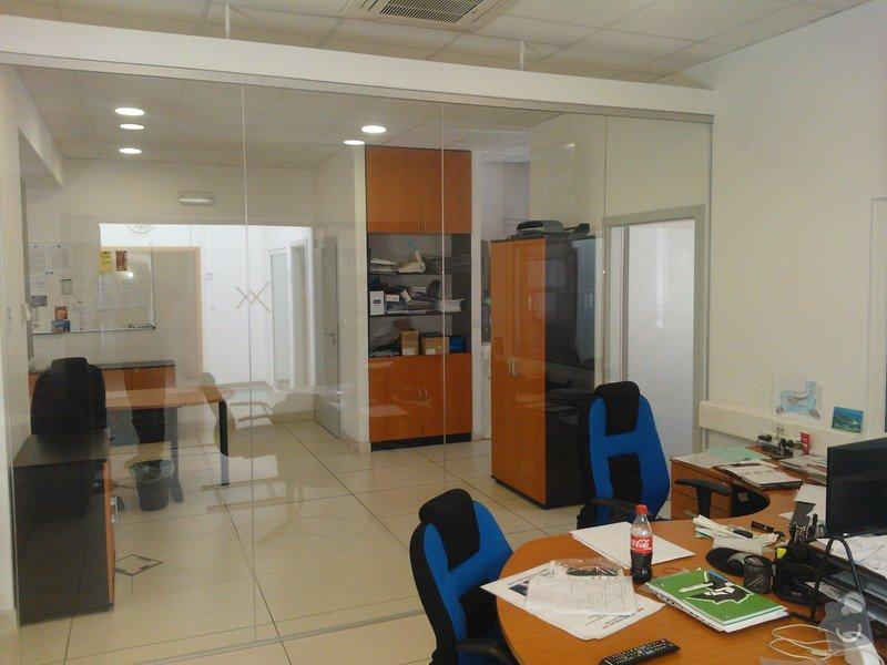 Skleněné zastřešení terasy,skleněné kanceláře: WP_002177