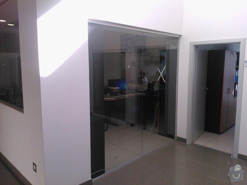 Skleněné zastřešení terasy,skleněné kanceláře: WP_002179