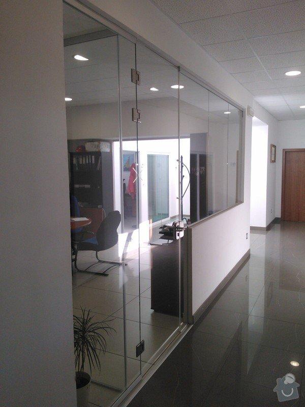 Skleněné zastřešení terasy,skleněné kanceláře: WP_002180