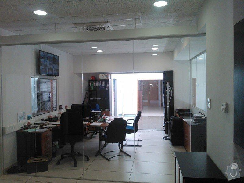 Skleněné zastřešení terasy,skleněné kanceláře: WP_002181