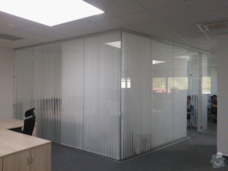 Skleněné zastřešení terasy,skleněné kanceláře: WP_002183
