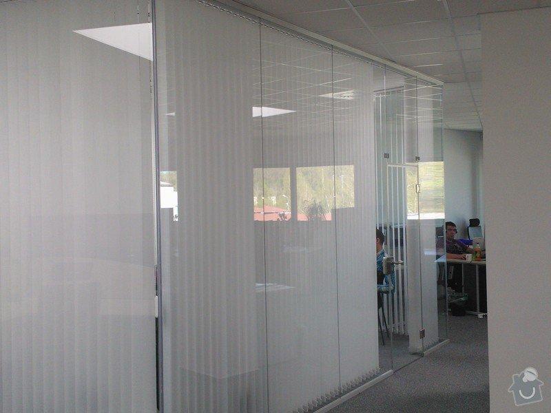 Skleněné zastřešení terasy,skleněné kanceláře: WP_002184