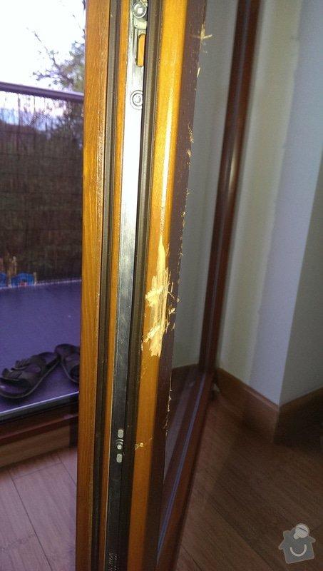 Oprava výklopného francouzského okna Roto: IMAG0260