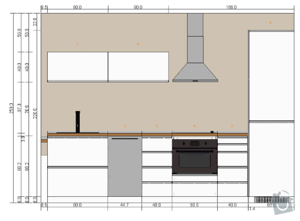 Elektropříprava, doprava a montáž kuchyňské linky IKEA: Planovac_IKEA