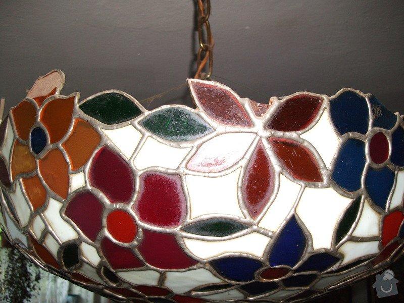 Oprava vitrážového lustru: DSCF1027
