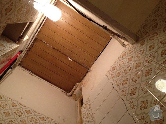 Sádrokartónový strop do koupelny: IMG_4824