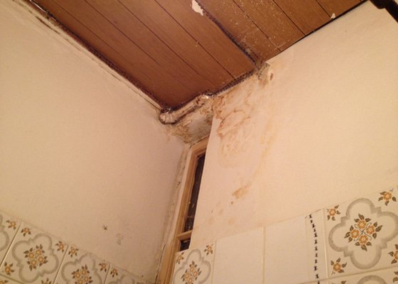 Sádrokartónový strop do koupelny