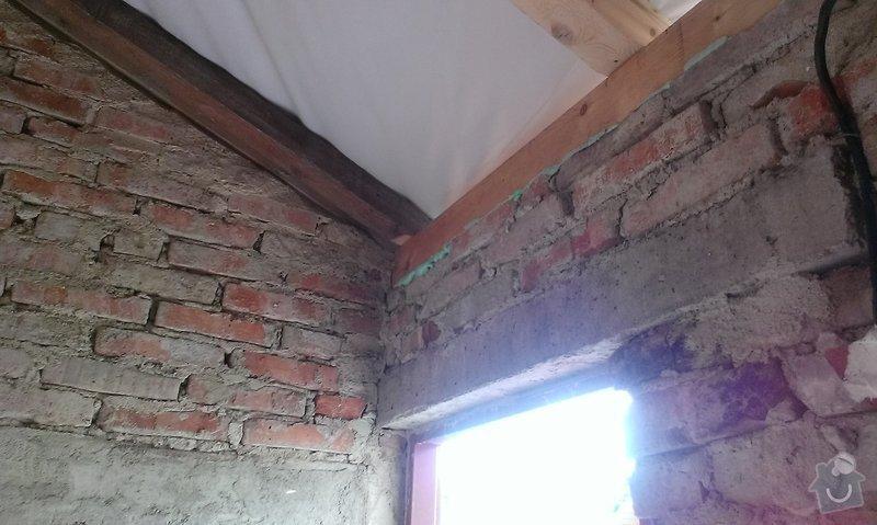 Zednické práce, fasáda a omítky: IMAG1355