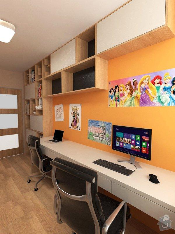 Výroba a částečně návrh nábytku do dětského pokoje: foto1