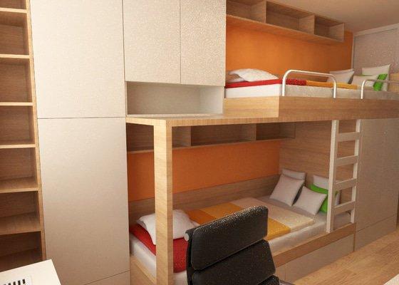 Výroba a částečně návrh nábytku do dětského pokoje