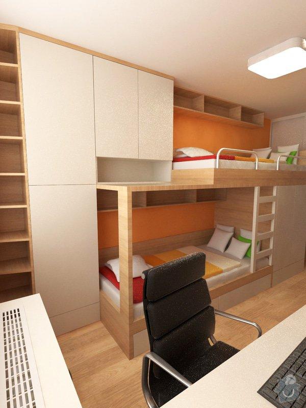 Výroba a částečně návrh nábytku do dětského pokoje: foto2