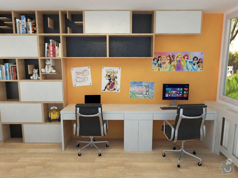 Výroba a částečně návrh nábytku do dětského pokoje: foto3