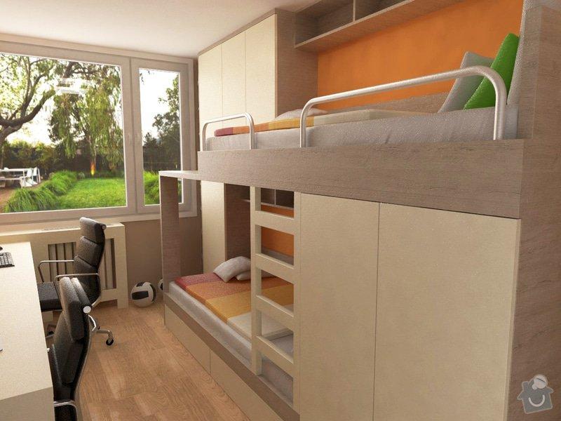 Výroba a částečně návrh nábytku do dětského pokoje: foto7