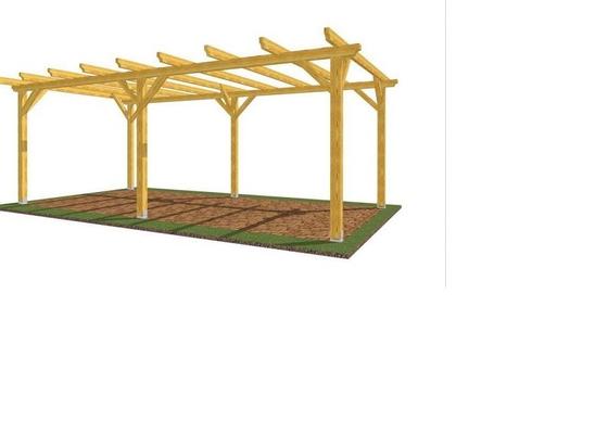 Zahradní pergola/přístřešek