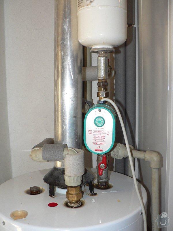 Výměnu stacionárního plynového ohřívače s odtahem spalin do komína Enbra JW 30 S - 114 l: P1390024