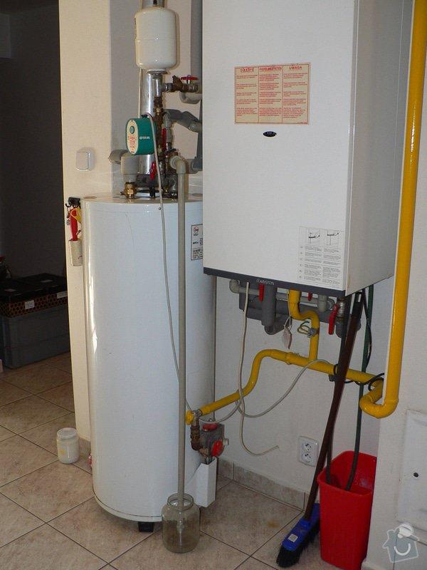 Výměnu stacionárního plynového ohřívače s odtahem spalin do komína Enbra JW 30 S - 114 l: P1390023