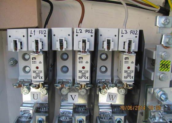 Zapojení el. rozvaděče pro elektroměr +revize