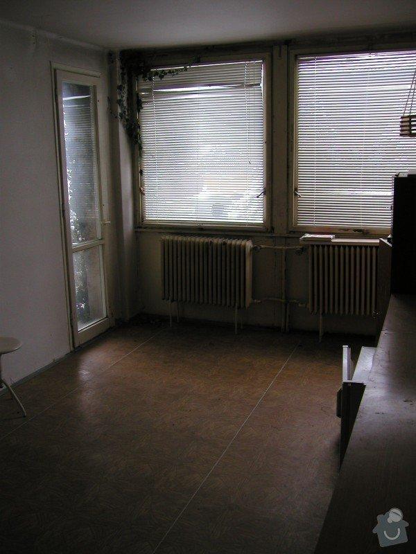 Částečná rekonstrukce domu - dvě místnosti: Loznice_-_pred