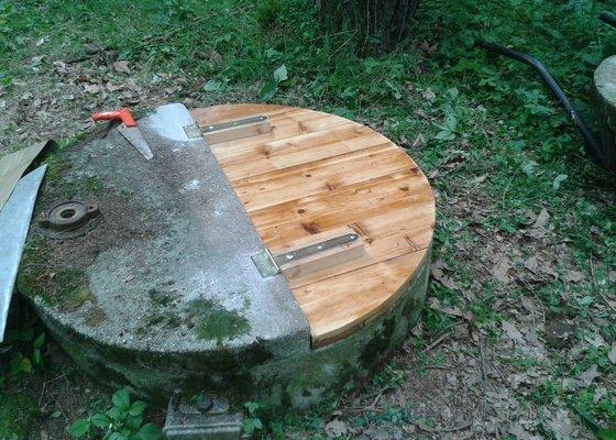 Čištění dna studny a vrtu