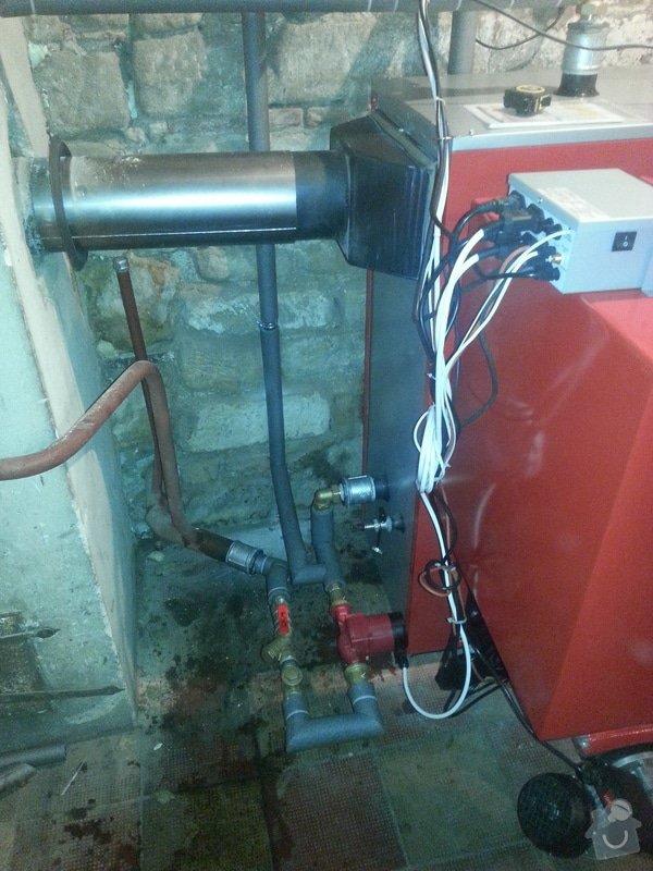 Automatický kotel 25 kw + montáž: 20140620_144740