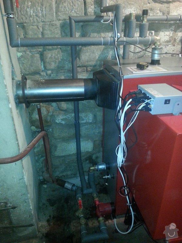Automatický kotel 25 kw + montáž: 20140620_144744