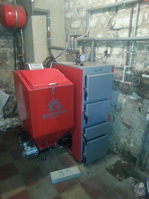 Automatický kotel 25 kw + montáž: 20140620_144840
