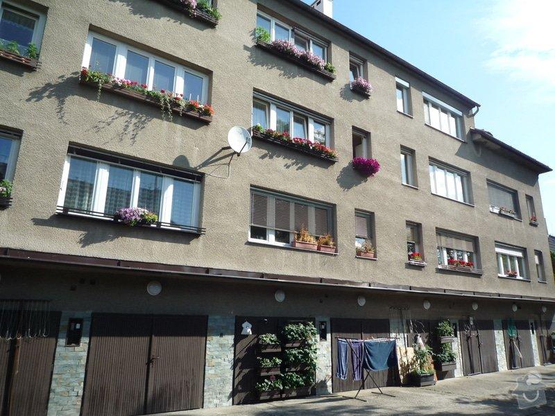 Zateplení obvodových zdí budovy: P1080509