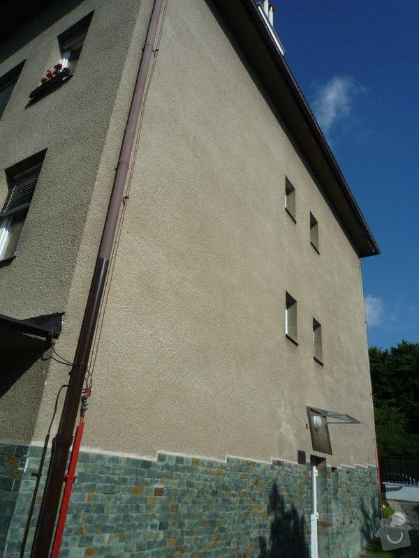 Zateplení obvodových zdí budovy: P1080510