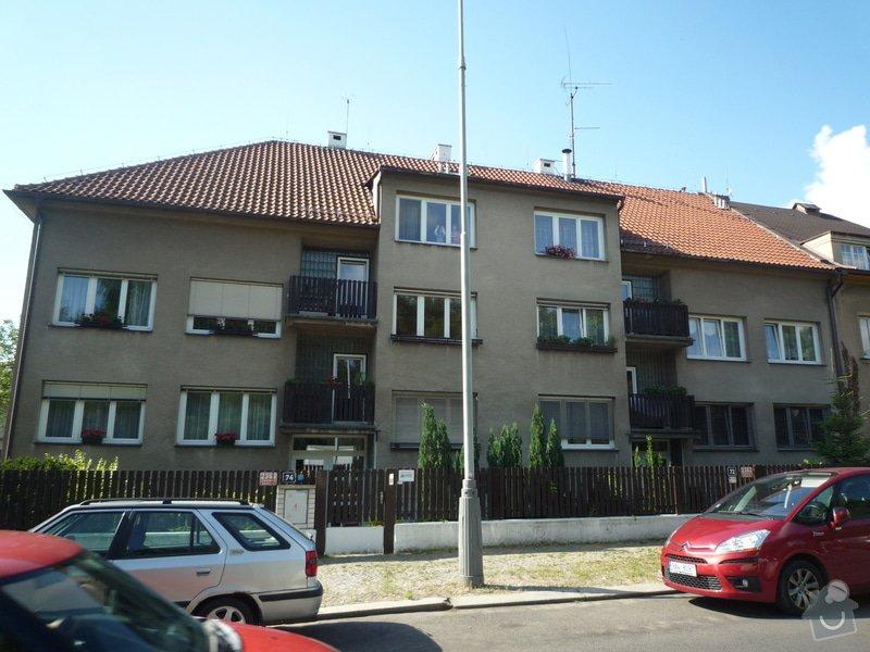 Zateplení obvodových zdí budovy: P1080511