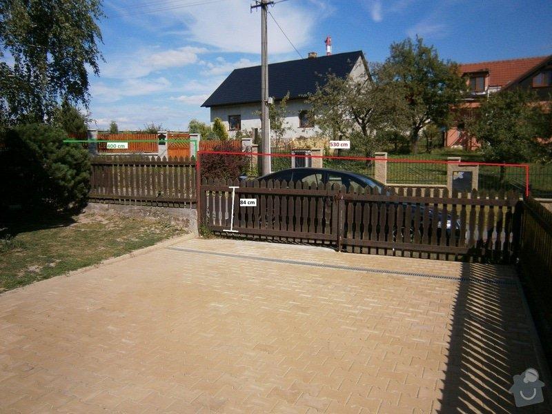 Výroba automatické brány: P6230317