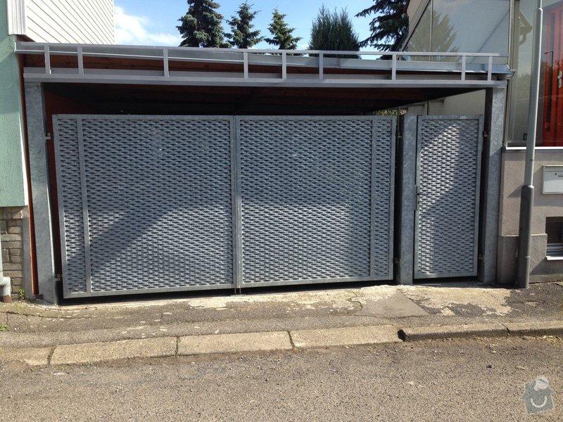 Vchodová brána se zinkovou povrchovou úpravou: Vrata_2