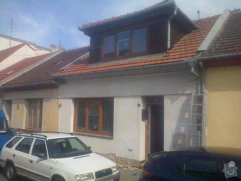 Zateplení  fasády  rodinného domku polystyrenem: IMG-20140602-00073