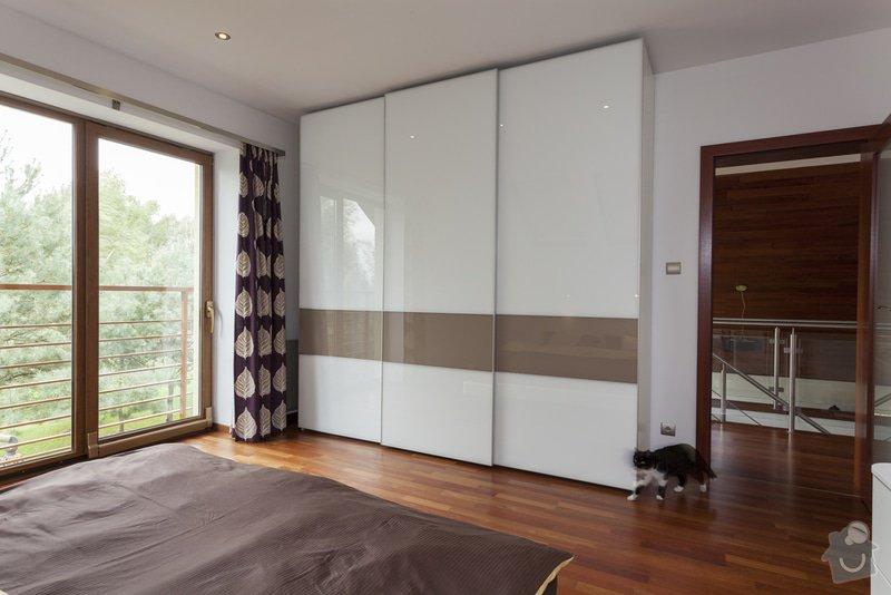 Vestavná skřín: design