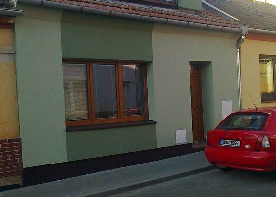 Zateplení  fasády  rodinného domku polystyrenem