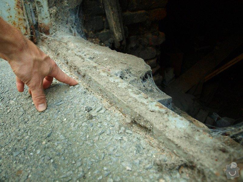 Rekonstrukce starého sklepa v činžovním domě (cca 25 m2): P6041675