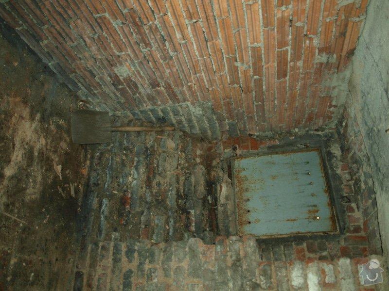 Rekonstrukce starého sklepa v činžovním domě (cca 25 m2): P6061683