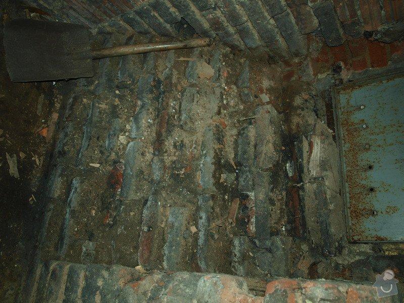Rekonstrukce starého sklepa v činžovním domě (cca 25 m2): P6061684