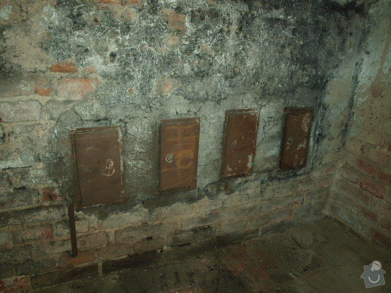 Rekonstrukce starého sklepa v činžovním domě (cca 25 m2): P6061686