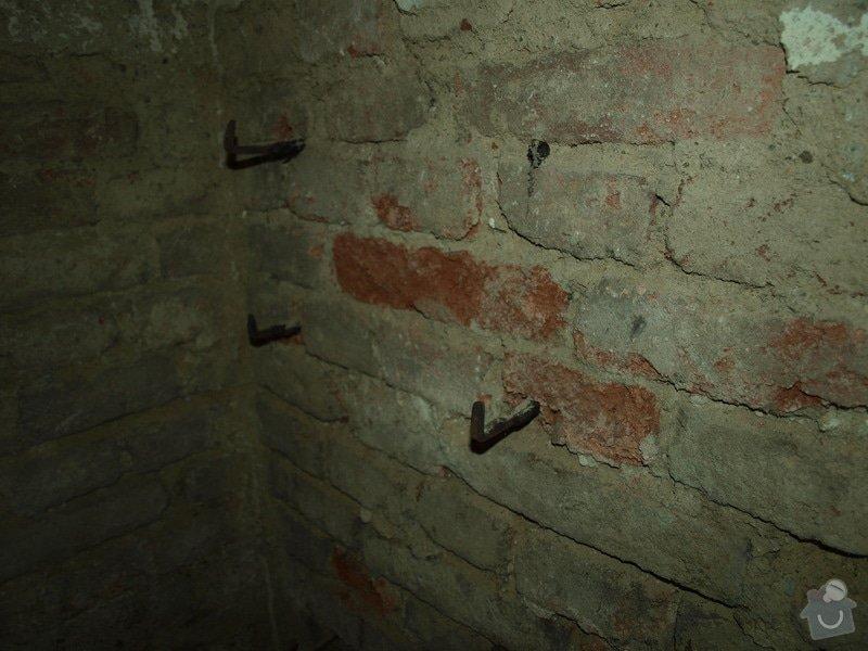 Rekonstrukce starého sklepa v činžovním domě (cca 25 m2): P6061689
