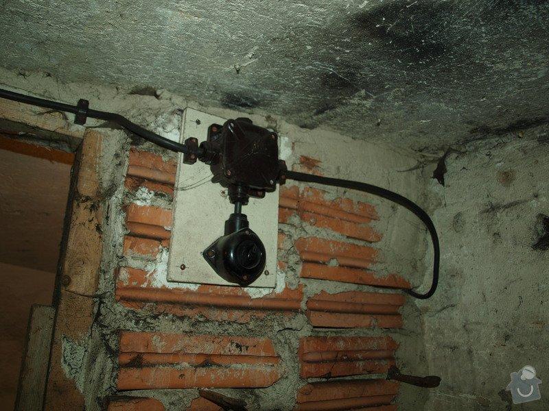 Rekonstrukce starého sklepa v činžovním domě (cca 25 m2): P6061690