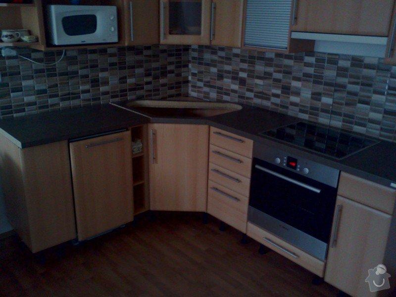 Montáž pracovní desky kuchyňské linky: IMG408