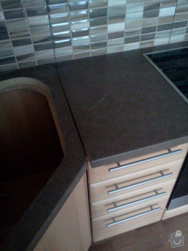 Montáž pracovní desky kuchyňské linky: IMG410