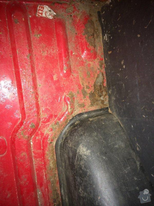 Autoklempířina - vyvaření podlahy ve Fordu Tranzit: 2014-06-24_21.48.12