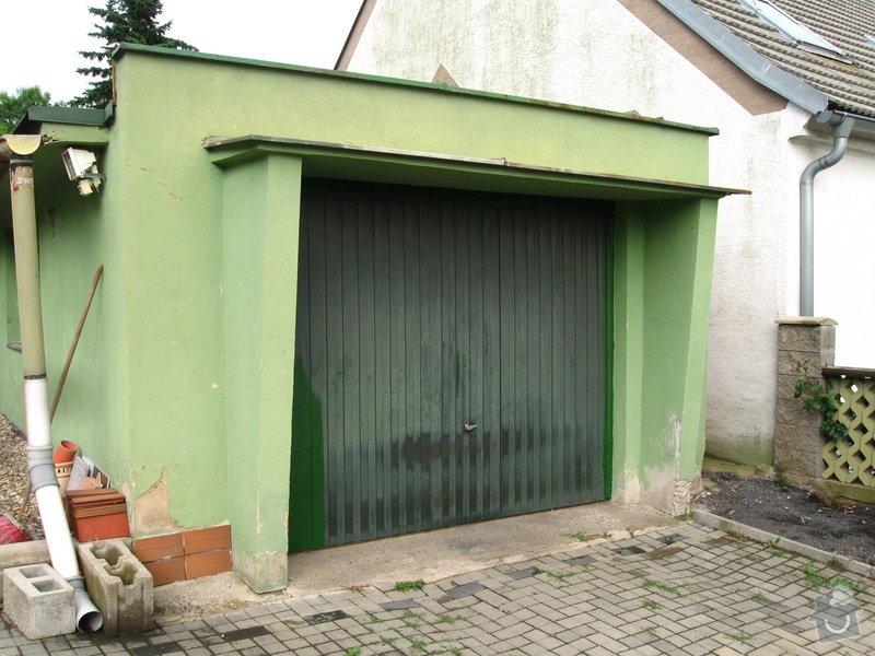 Vybourání starých garážových vrat + příprava pro sekční vrata: IMG_5575