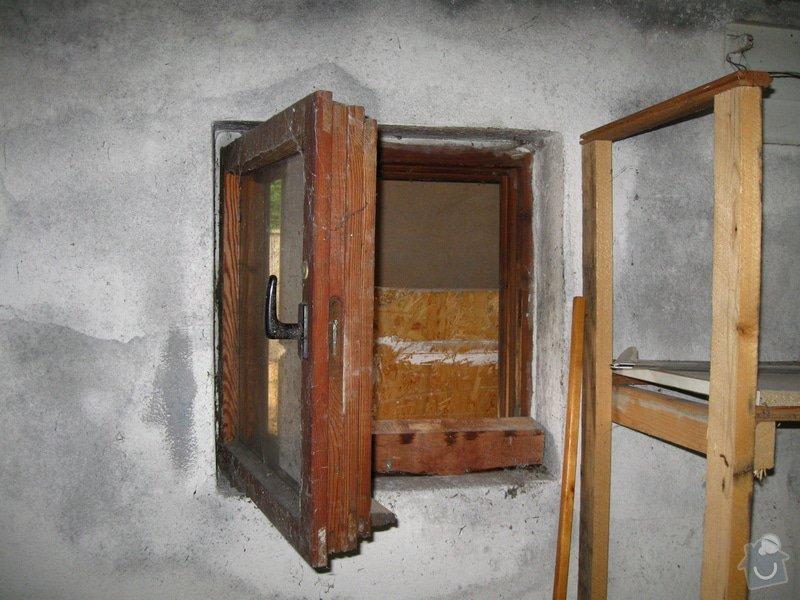 Vybourání starých garážových vrat + příprava pro sekční vrata: IMG_5581