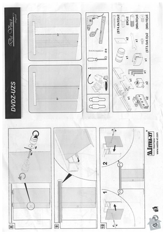 Zhotoveni sadrokartonove pricky s posuvnymi dvermi: dvere3