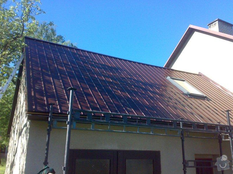 Nová střecha + půdní vestavba - jaro 2014: 16