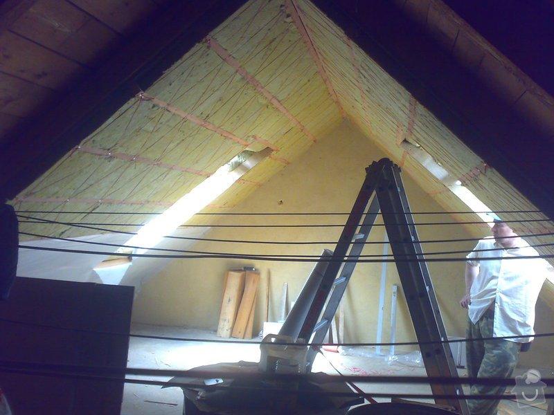 Nová střecha + půdní vestavba - jaro 2014: 23