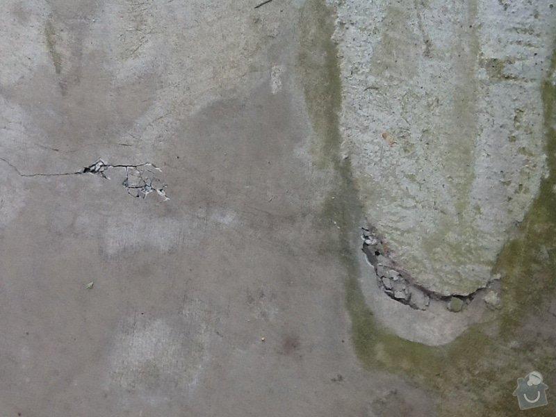 Zednické práce: beton.podlaha